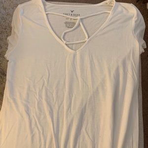 whit soft and sexy short sleeve